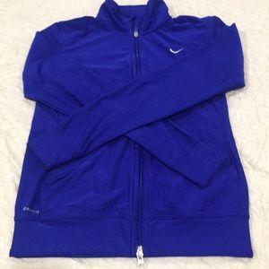 Nike dri fit track jacket